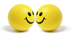 Yellow, the color of smileys